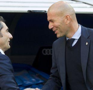 """Zidane y Valverde coinciden en que lucha por el título """"no está terminada"""""""