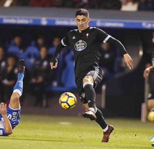 Hernández juega en triunfo del Celta en clásico gallego ante Deportivo La Coruña
