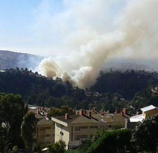 Decretan Alerta Roja en Valparaíso por incendio forestal en Villa Portuaria