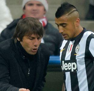 El llamado que recibió Arturo Vidal de su ex técnico para llegar a la Premier League