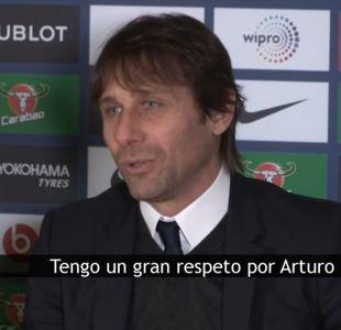 """[VIDEO] Antonio Conte: """"Tengo un gran respeto por Arturo"""""""