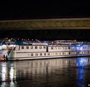 Alemania: al menos 30 heridos al chocar un crucero en el Rin
