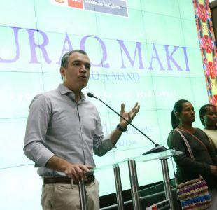 Dimite el ministro de Cultura peruano, Salvador del Solar, tras indulto a Fujimori