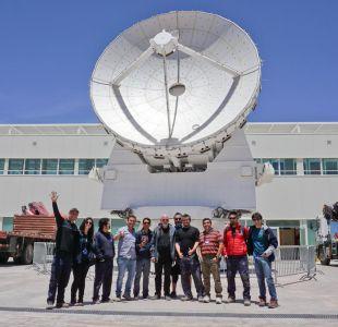 David Gilmour visita el Observatorio ALMA antes de abandonar Chile