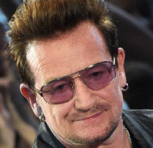 Bono, líder de U2: La música se está volviendo una cosa para niñas