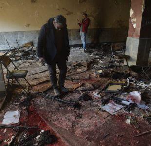 Estado Islámico reivindicó atentado que dejó al menos 41 muertos en Kabul