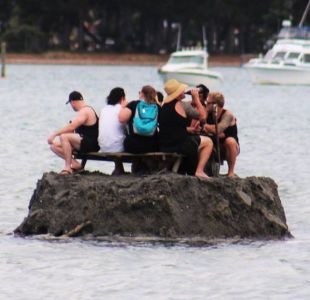 Los creativos bebedores que construyeron una isla para burlar una prohibición al consumo de alcohol