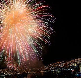 [FOTOS] Mira las fotos de los fuegos artificiales en Valparaíso