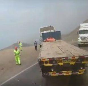 Al menos 25 muertos por accidente de bus en Perú
