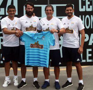 """Mario Salas es presentado en Sporting Cristal y promete ser """"protagonista del campeonato"""""""