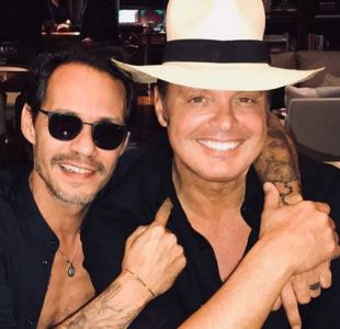Marc Anthony y Luis Miguel