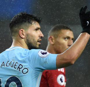 Sergio Agüero quiere acabar su contrato con el Manchester City