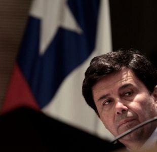 Ex ministro Pedro García renuncia a la DC