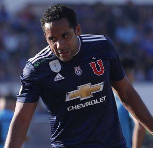 Jean Beausejour no logra superar su lesión y se mantiene al margen del equipo