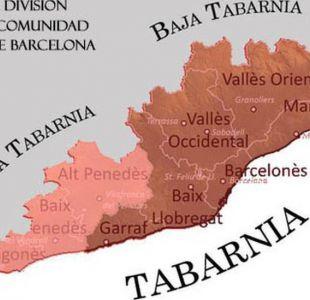 Tabarnia, la región imaginaria que quiere independizarse del resto de Cataluña y seguir en España