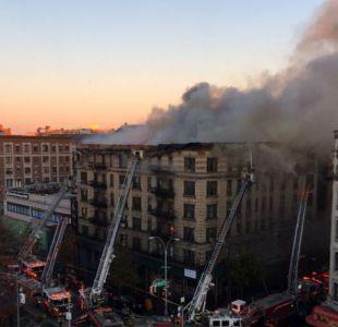 Incendio en Nueva York: Autoridades elevan a 13 el número de fallecidos