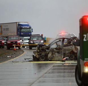 Cinco argentinos mueren en accidente en Magallanes