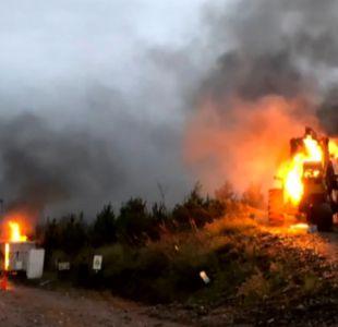 Nuevo ataque incendiario en región de Los Ríos