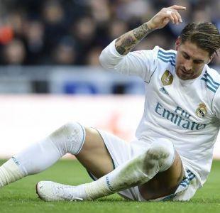 Sergio Ramos será baja dos o tres semanas por lesión