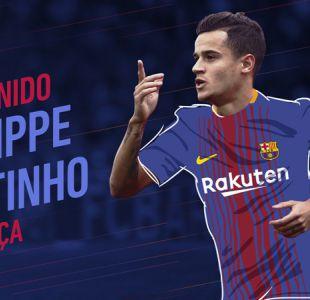Barcelona confirma millonario fichaje de Philippe Coutinho desde el Liverpool