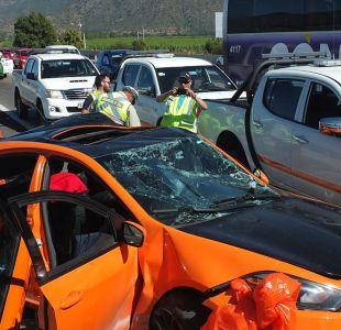 Dos fallecidos deja accidente vehicular en Casablanca