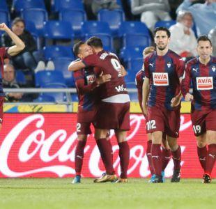 Fabián Orellana debuta con gol en el triunfo de Eibar sobre Las Palmas