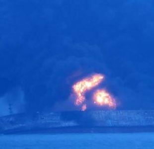 Treinta y dos desaparecidos al colisionar dos buques frente a la costa de China