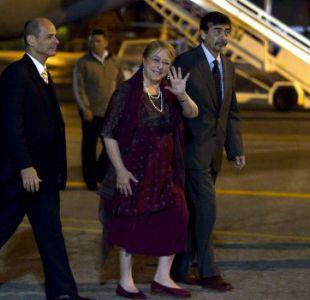 Bachelet llegó a Cuba y se reunirá este lunes con Raúl Castro