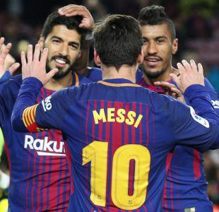 Barcelona golea al Levante de la mano de Messi y Suárez para mantener su liderato