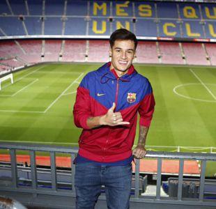 """Philippe Coutinho saborea el """"sueño hecho realidad"""" de fichar por el Barcelona"""