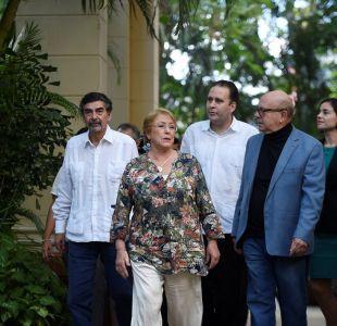 Michelle Bachelet visita Cuba