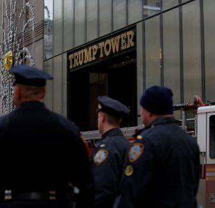 Incendio en la azotea de la Torre Tump deja al menos dos heridos