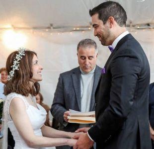 Esta pareja se comprometió y casó el mismo día por una conmovedora razón