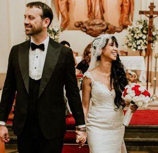 Simoney Romero y su boda