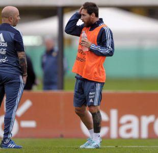 Sampaoli se reúne con Messi en Barcelona para planificar el Mundial