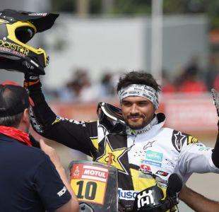Pablo Quintanilla sube hasta el segundo lugar en el Dakar