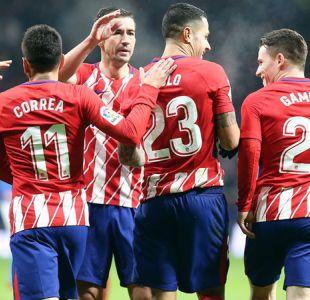Atlético de Madrid vuelve a golear y avanza a cuartos de final en Copa del Rey
