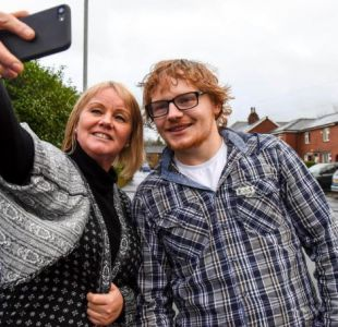 La sorprendente historia de un trabajador inglés con un inusual parecido a Ed Sheeran