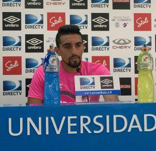 """Branco Ampuero: """"Con el entrenador nuevo hay que jugársela y trabajar para ganarnos un puesto"""""""