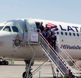 Así es el avión que trasladará al Papa Francisco en Chile
