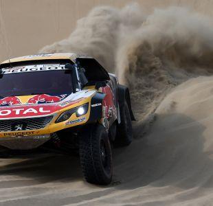 Dakar 2018: Peterhansel sigue líder en autos y Loeb abandona en la quinta etapa