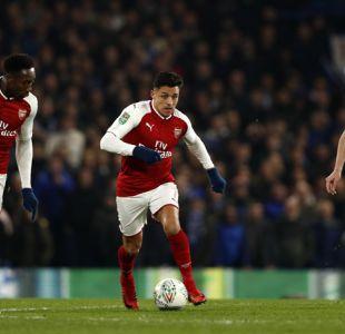 ¿Su despedida? Alexis juega en igualdad del Arsenal ante Chelsea por Copa de la Liga