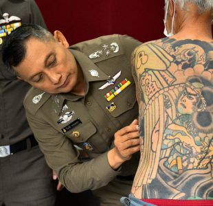 Capo de la mafia japonesa es arrestado luego que sus tatuajes se volvieran virales en Facebook