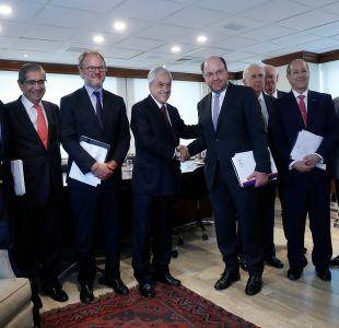 Piñera tras reunión con CPC: Vamos a fomentar e incentivar la colaboración público privada