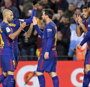 Barcelona golea a Celta de Vigo con un brillante Messi y avanza en Copa del Rey