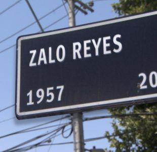 [VIDEO] Zalo Reyes tendrá una calle con su nombre en Conchalí