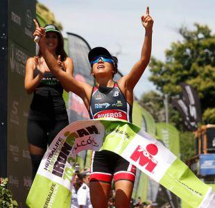 Chilena Bárbara Riveros se corona tetracampeona del Ironman de Pucón