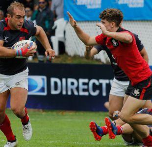Chile clasifica a Copa del Mundo de Rugby Seven pese a caer ante Francia