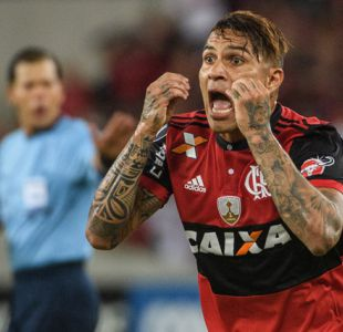 Flamengo suspende temporalmente contrato de Paolo Guerrero