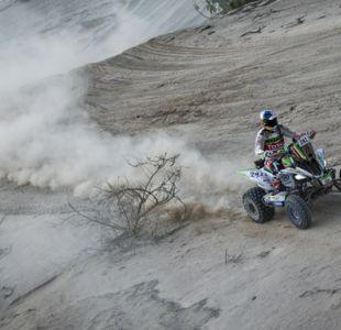 Casale es tercero en la octava etapa del Dakar y continúa liderando la general